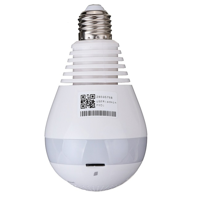 Light Bulb Spy Camera - Live Viewing