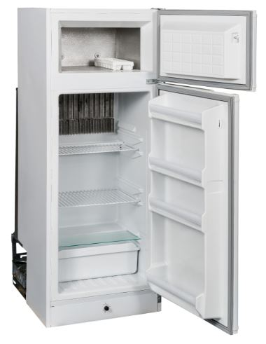 ZERO  230LTR GAS & ELECTRIC FRIDGE/FREEZER - BRAND NEW - Shop Soiled