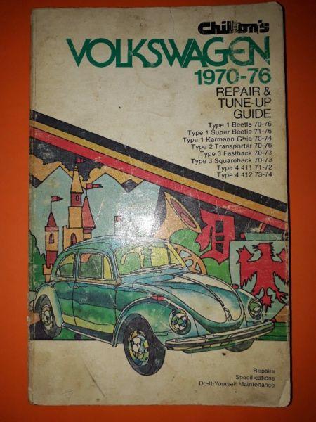 Volkswagen 1970-76 - Chilton's Repair & Tune Up Guide - Workshop Manual.