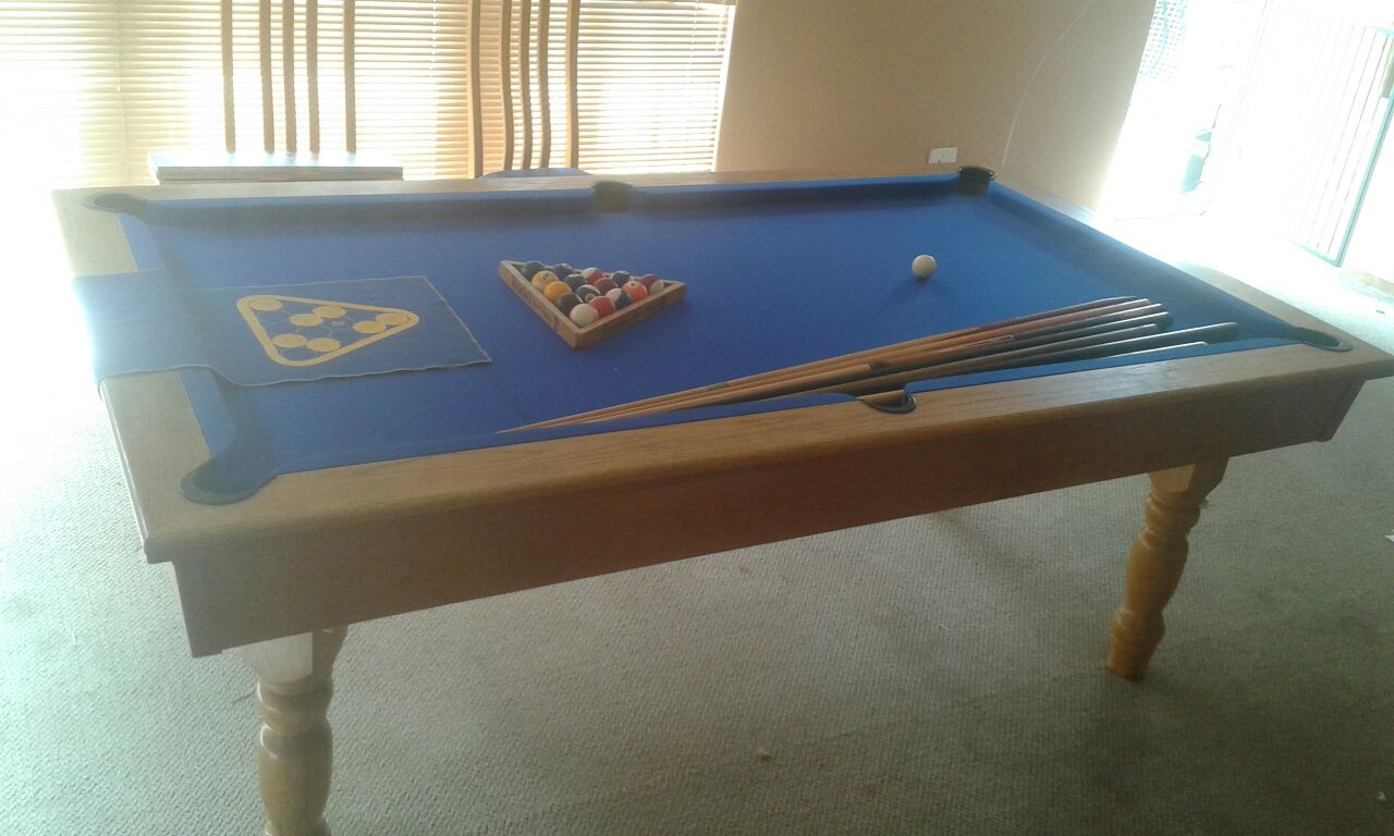 Pool Table In Dining Room Furniture South Africa