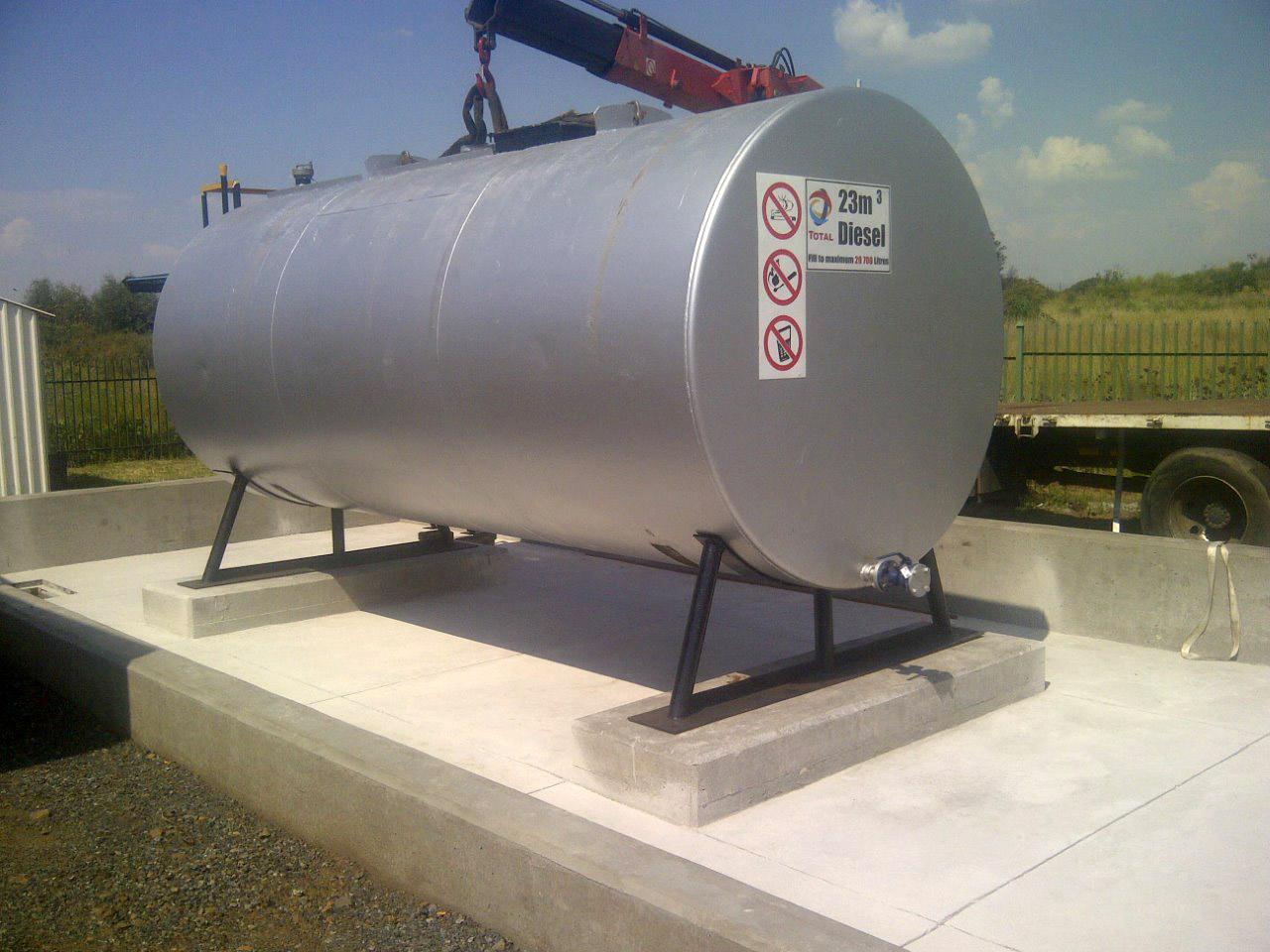 Bulk Diesel Oil Paraffin and Fuel Tanks