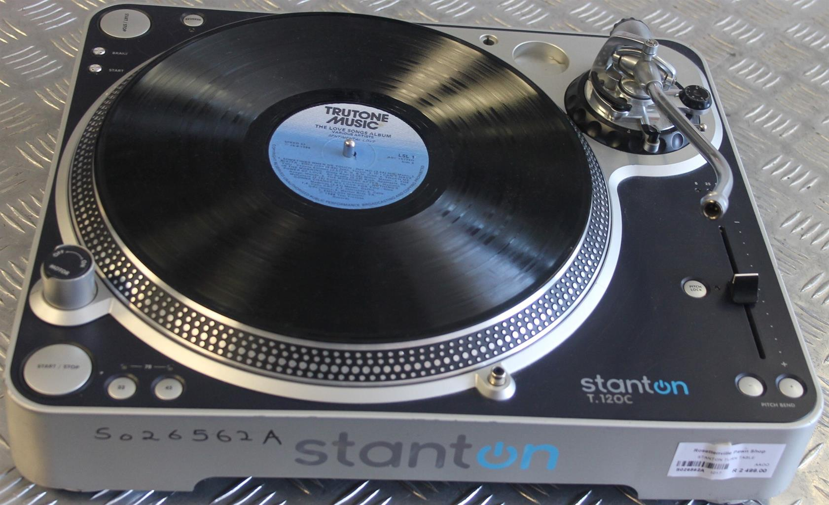 Stanton turntable S026562a #Rosettenvillepawnshop