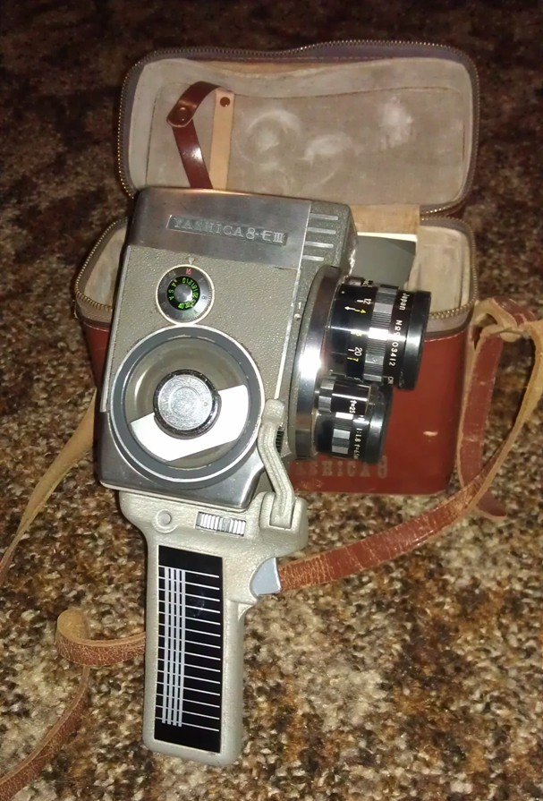 Yashica 8-E111 Film Camera plus Projector