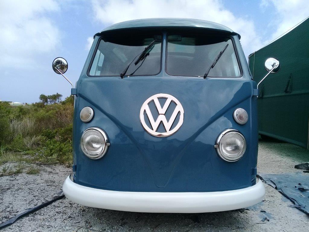 Restored 1964 vintage Volkswagen splitwindow panelvan kombi - vw microbus (BITCOIN ACCEPTED)