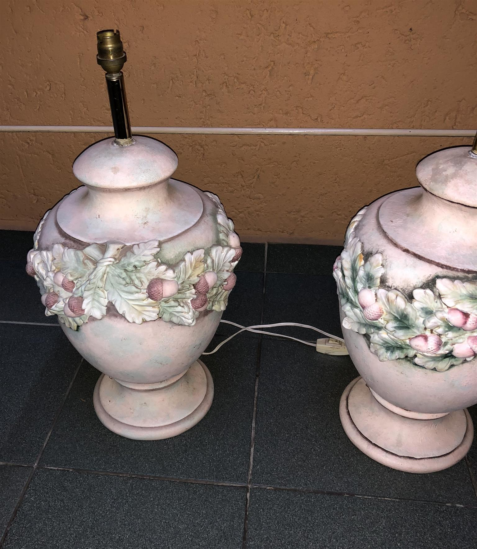 Antique Italian table lamps