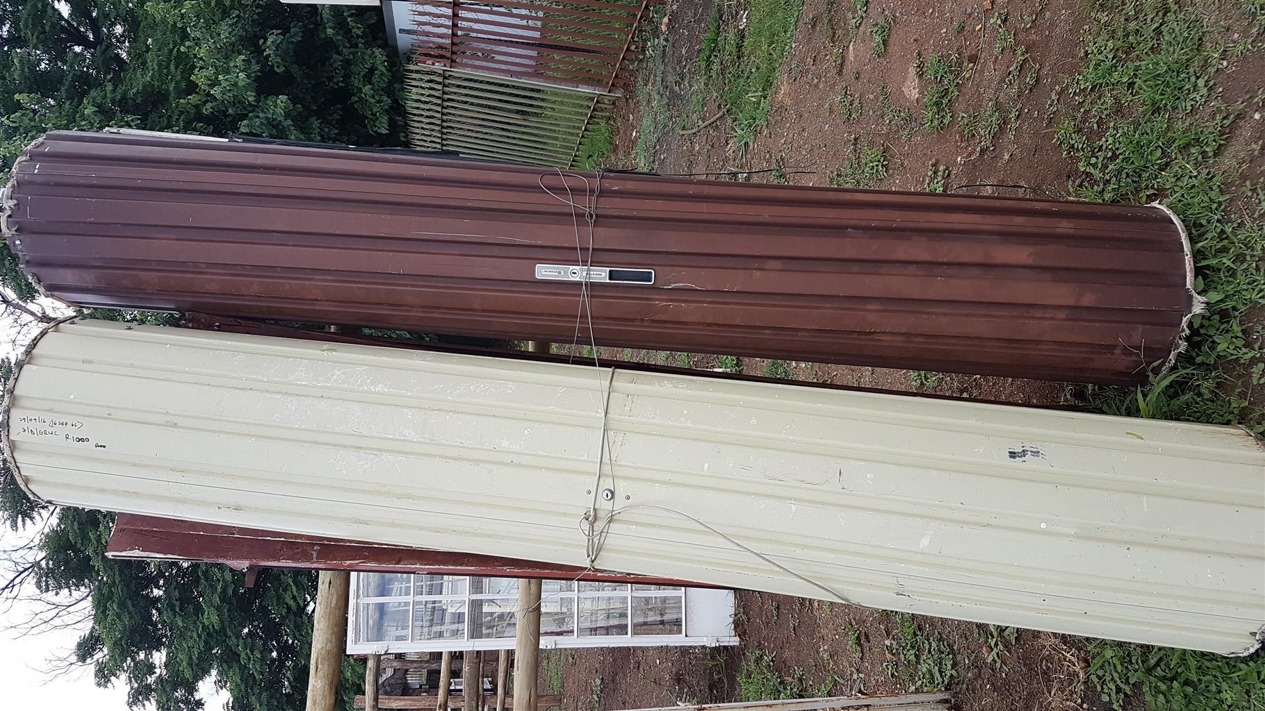 Garage Doors Steel Metal Roll Up Doors Used Junk Mail