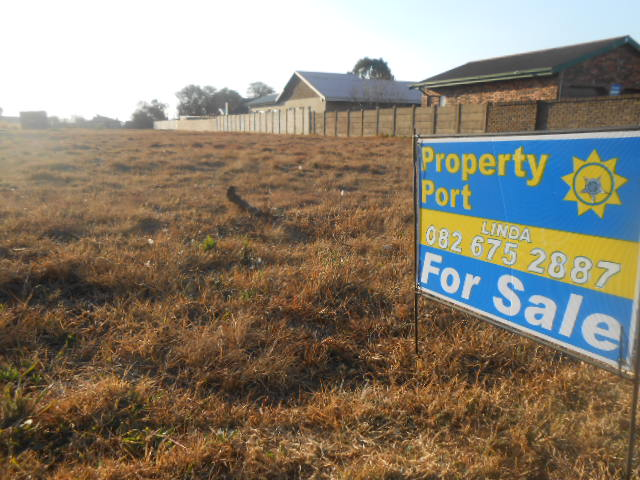 Vacant residential land in Riversdale, Gauteng up for sale