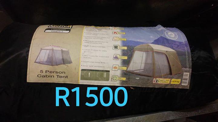 5 person cabin tent