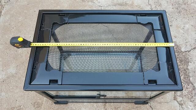 Reptile glass cage