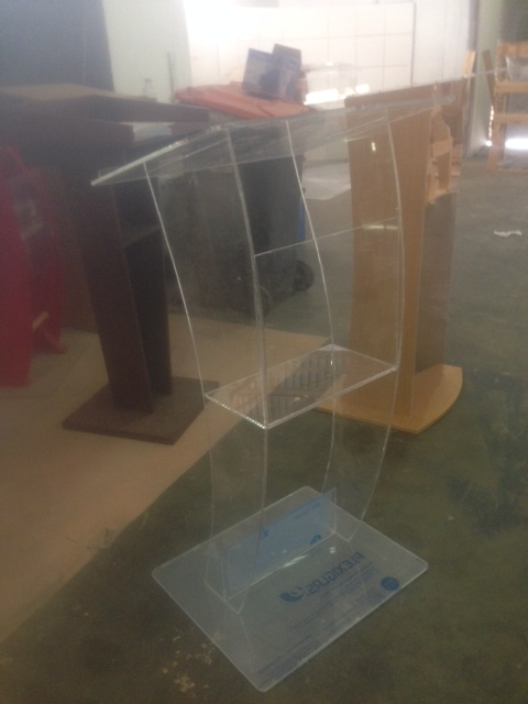 Only R 2500-00 #Acrylic Podiums#