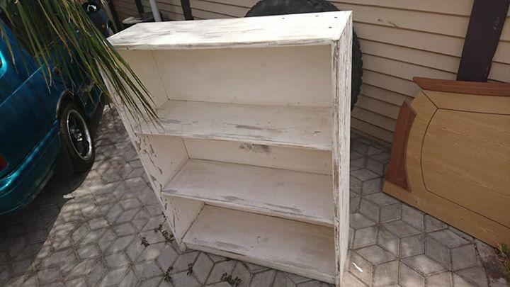 Book rack wood