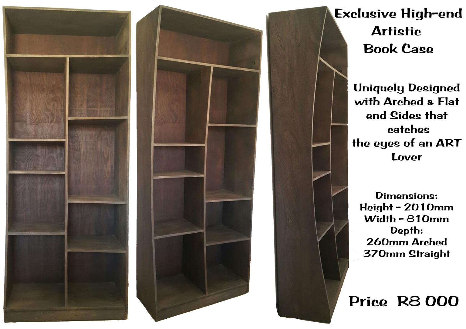 Artistic bookshelf