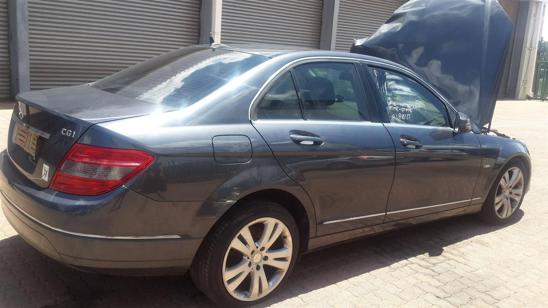 Mercedes-Benz C200 CGI Stripping For Spares