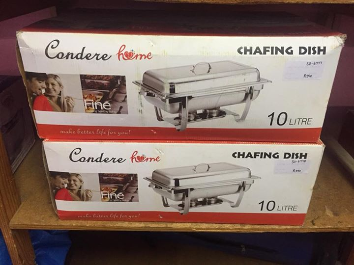 2 Chafing dishes for sale