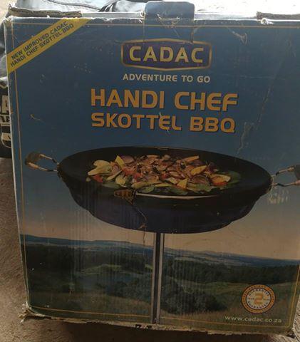 Cadac Handi Chef Skottel Braai