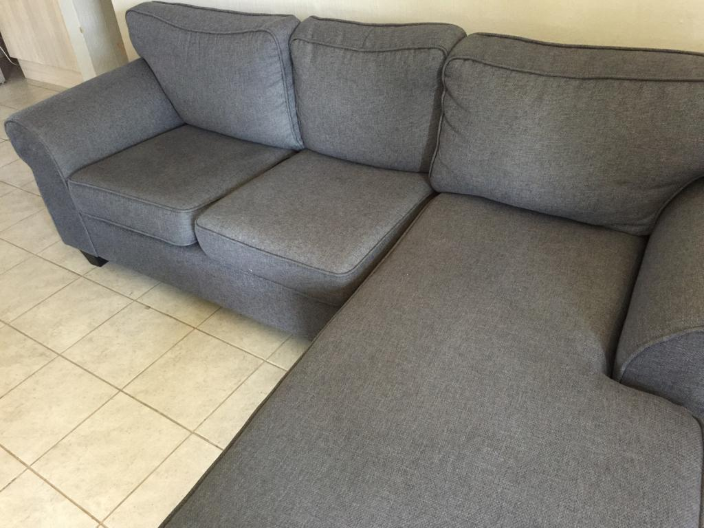 Brand new L shaped couch