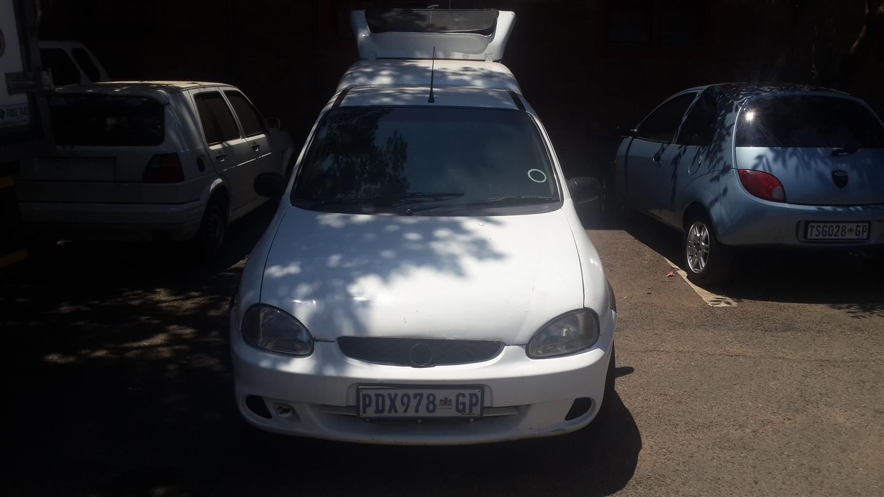 2003 Opel Corsa Utility 1.7