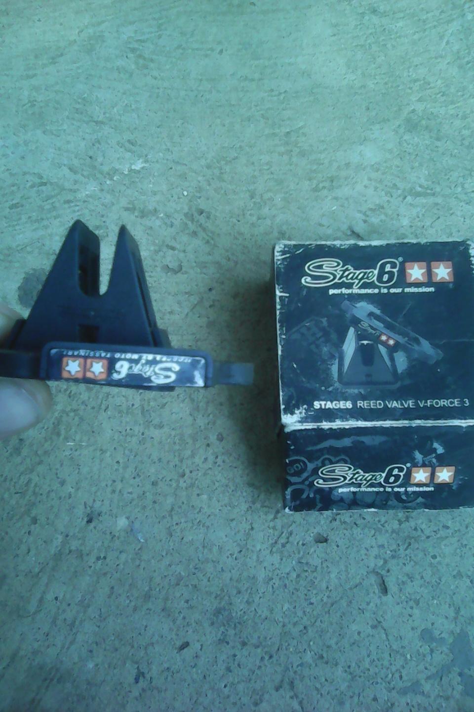 V force 3 reed valves for BWS