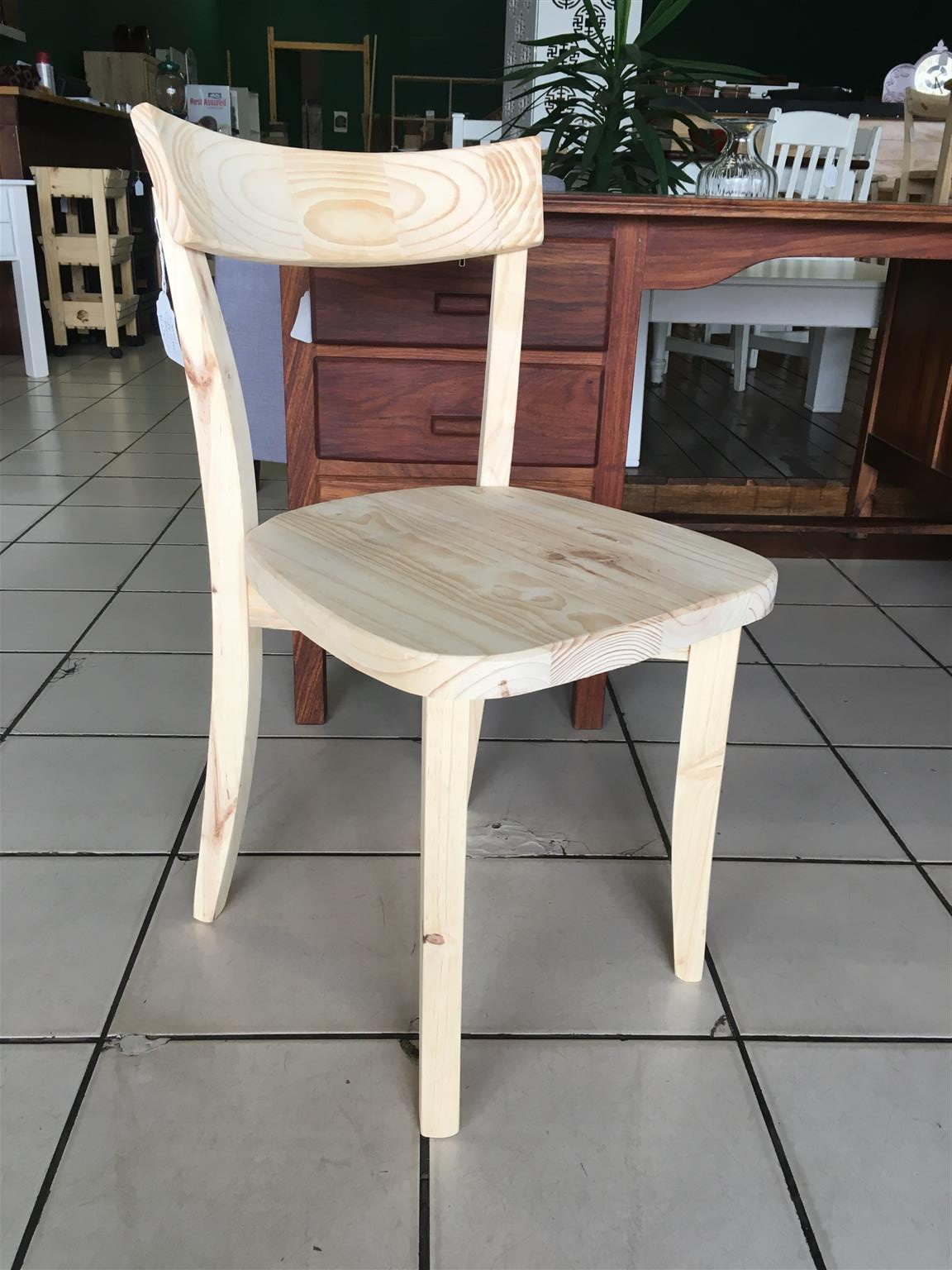 Cafe Chair Raw Pine
