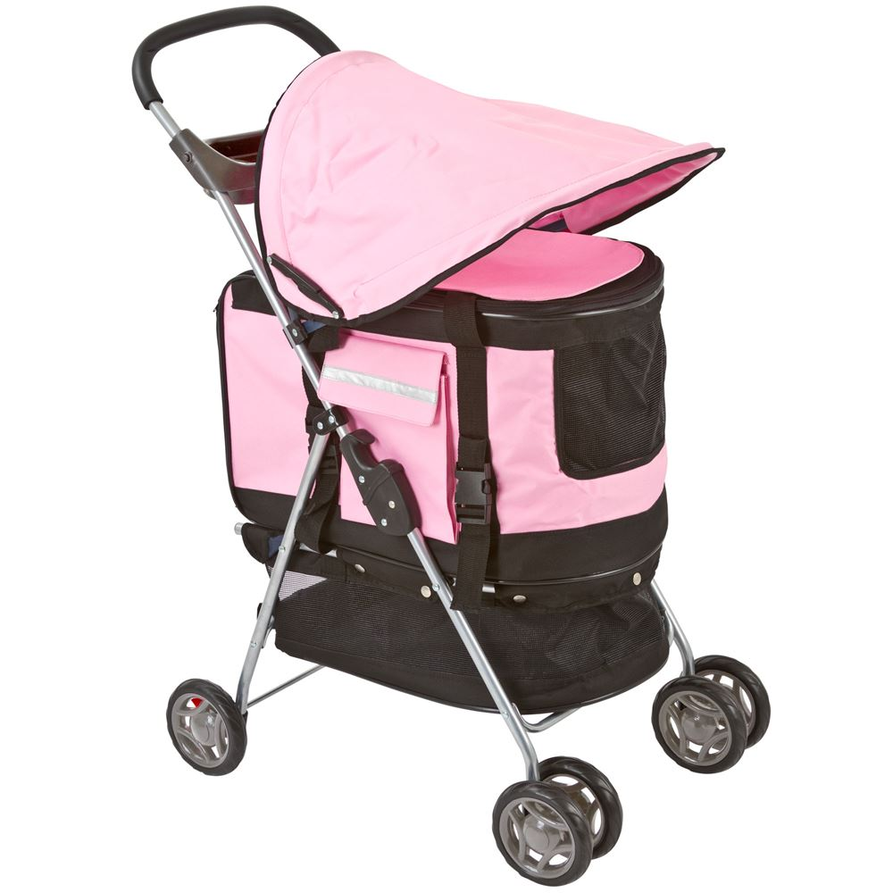 3 in 1 Pet Stroller, Carrier & Booster Seat