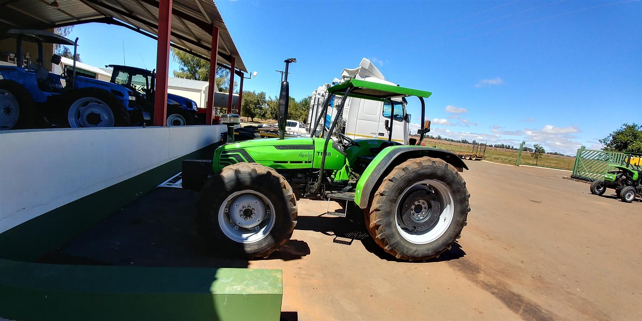 2007 Deutz Agrolux 80 4x4 Tractor