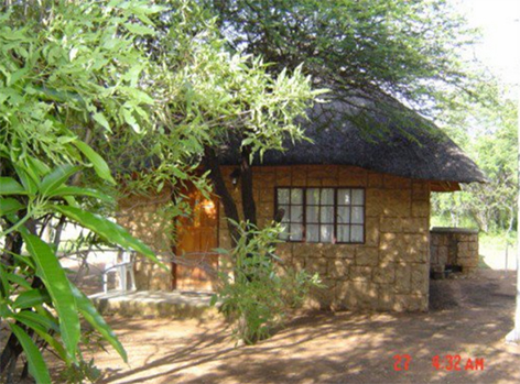 80 Hectares Bushveld Area with Lodge for sale.