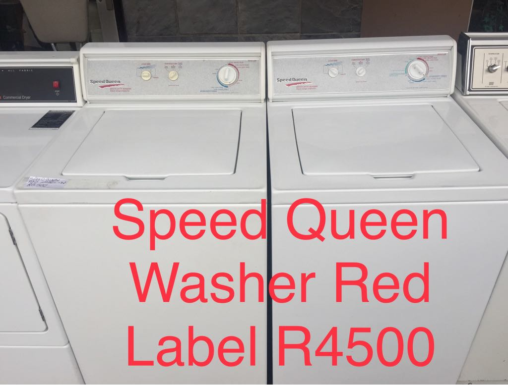 Speed Queen and Whirlpool Washing Machines and Tumble Dryers