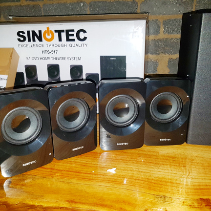 SINOTEC 5.1 CHANNEL HOME THEATRE SYSTEM
