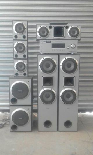 Surround Sound te koop