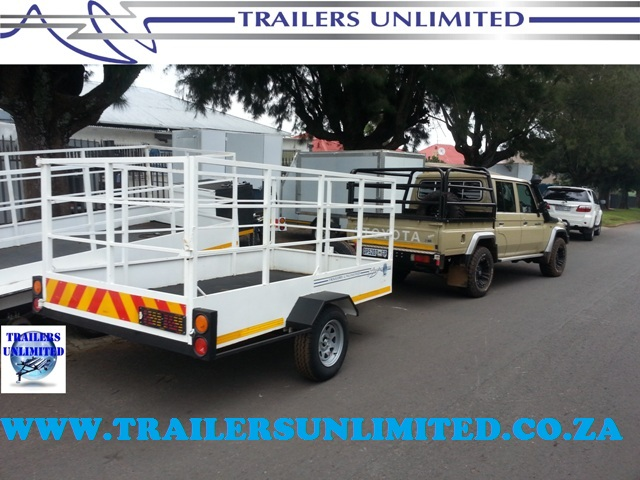 TRAILERS UNLIMITED. THE FARMERS BEST WORKER.