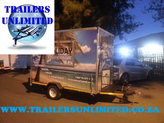 Catering Trailer 4100 x 2000 x 2400