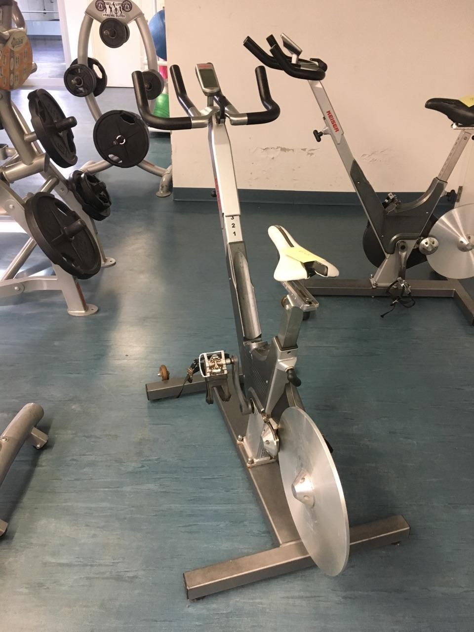 Keiser M3 Indoor Cycle w/ Computer - Cleaned & Serviced