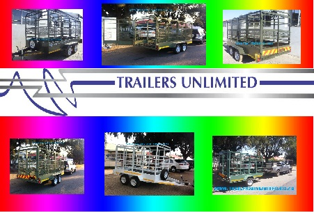 TRAILERS UNLIMITED. CATTLE TRAILERS FROM R34900