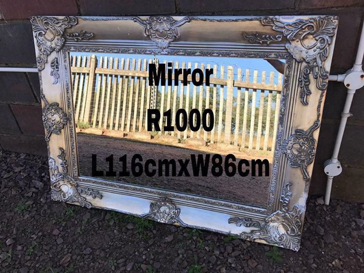 Large framed mirror for sale
