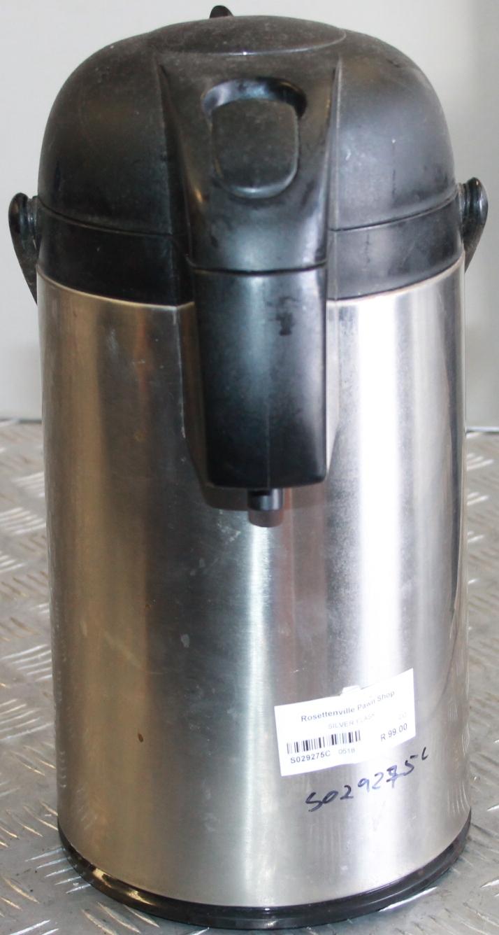 Silver flask S029275c #Rosettenvillepawnshop