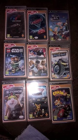 PSP met 9 games