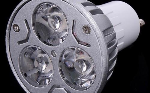 GU10 6W LED Downlighter - Warm white (High Quality)
