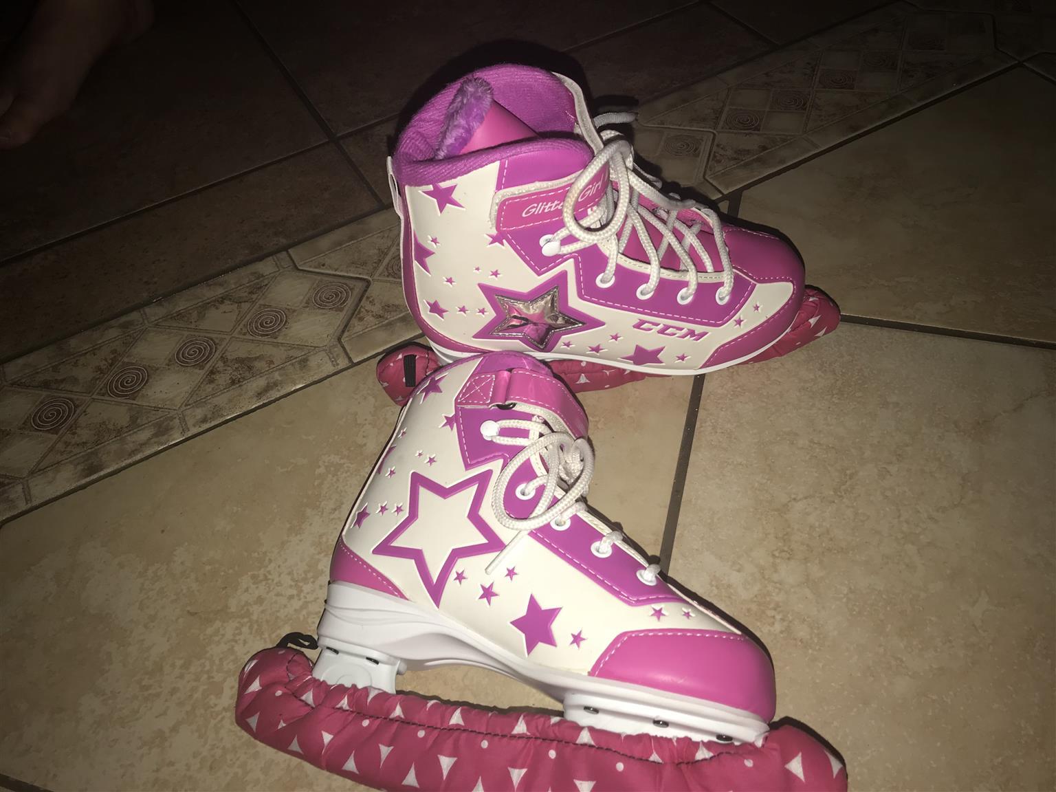 Ice skates girls size 34