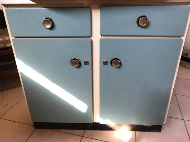 Steel cabinets,