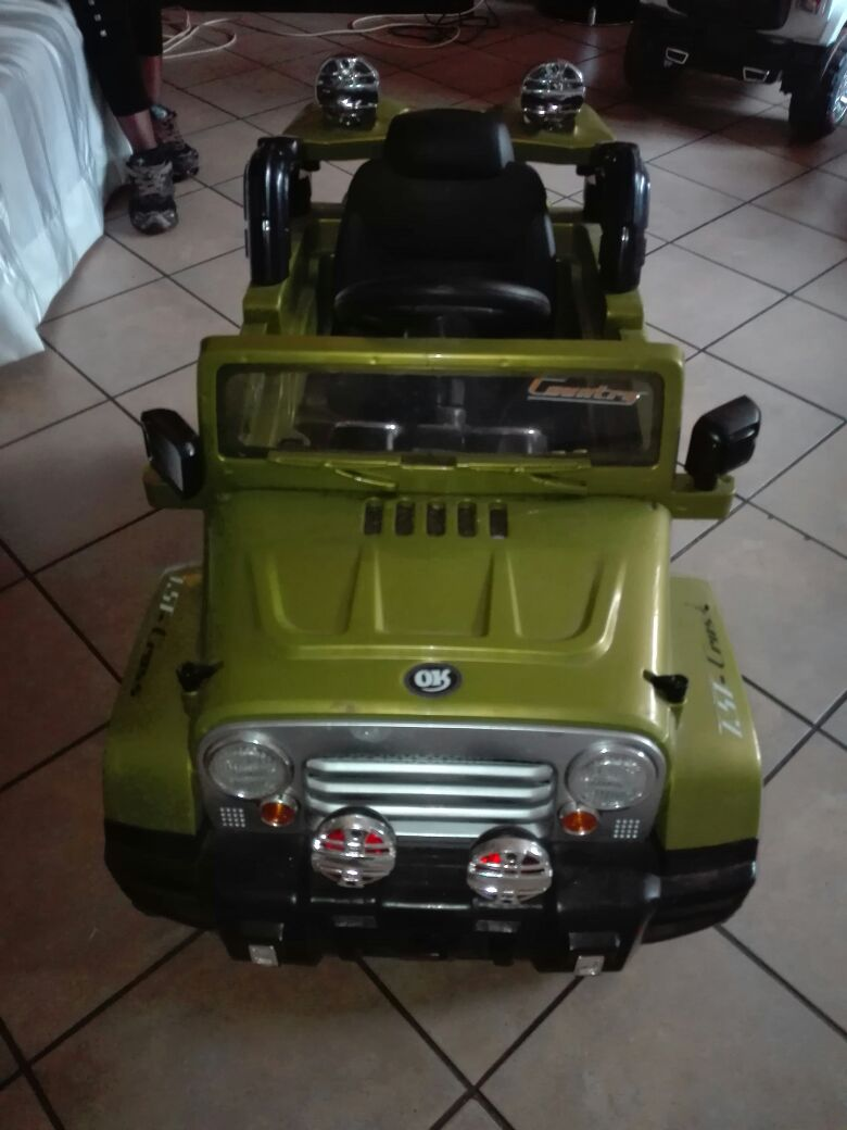 Jeep toy car for sale