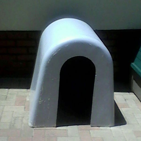 Dog kennel asbess