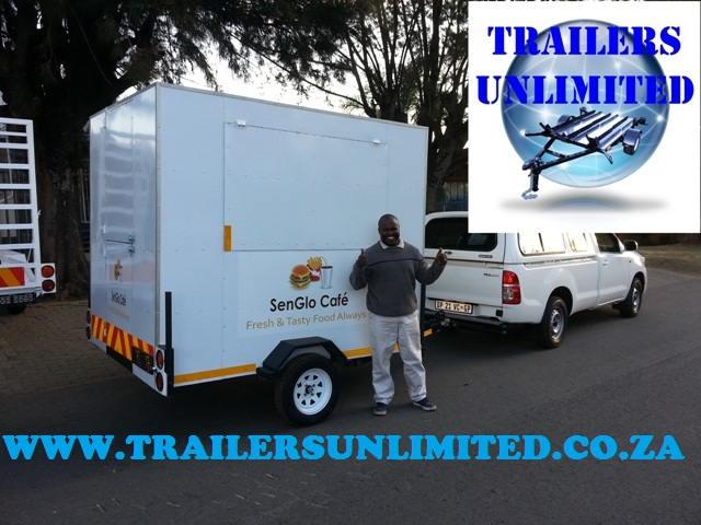 One Man Food Trailer 2050 x 1800 x 2000