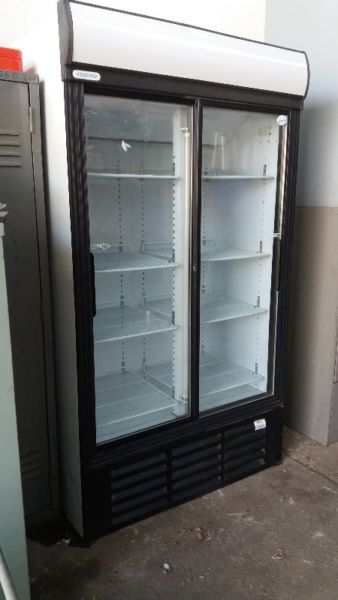 Disply fridges and freezers.