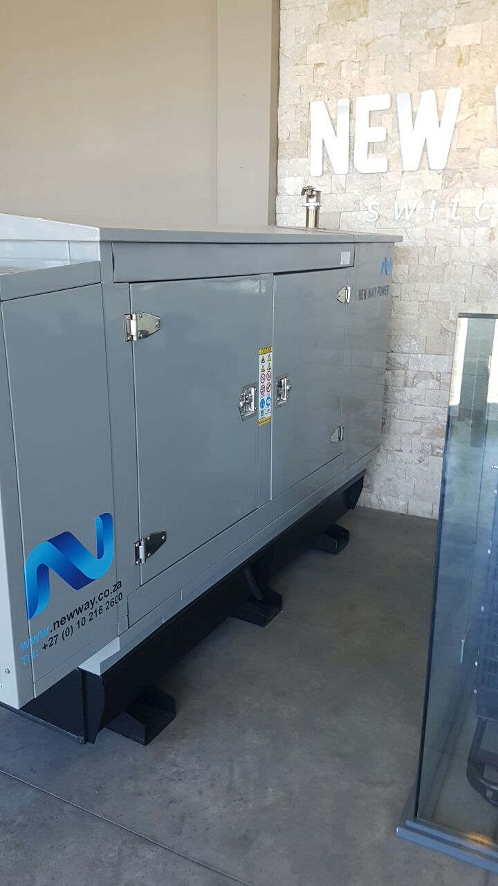 Brand new 30KVA John Deere Generator with a sound proof canopy and a Leroy Somer Alternator.