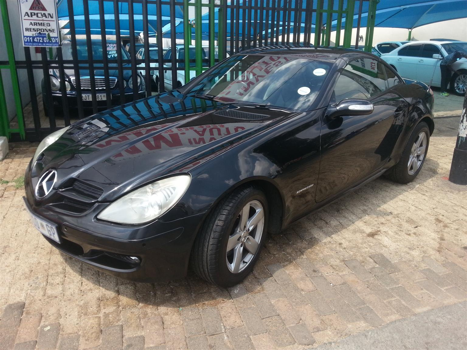 2006 Mercedes Benz SLK 200 Kompressor Sports