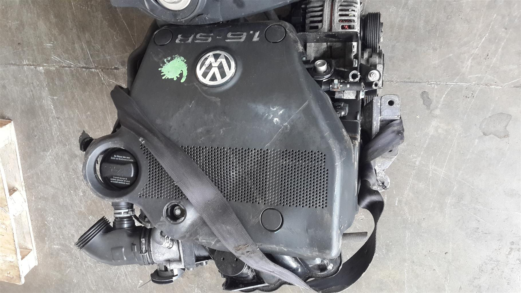 Vw Engines For Sale >> Vw Golf 4 1 6 Engine For Sale