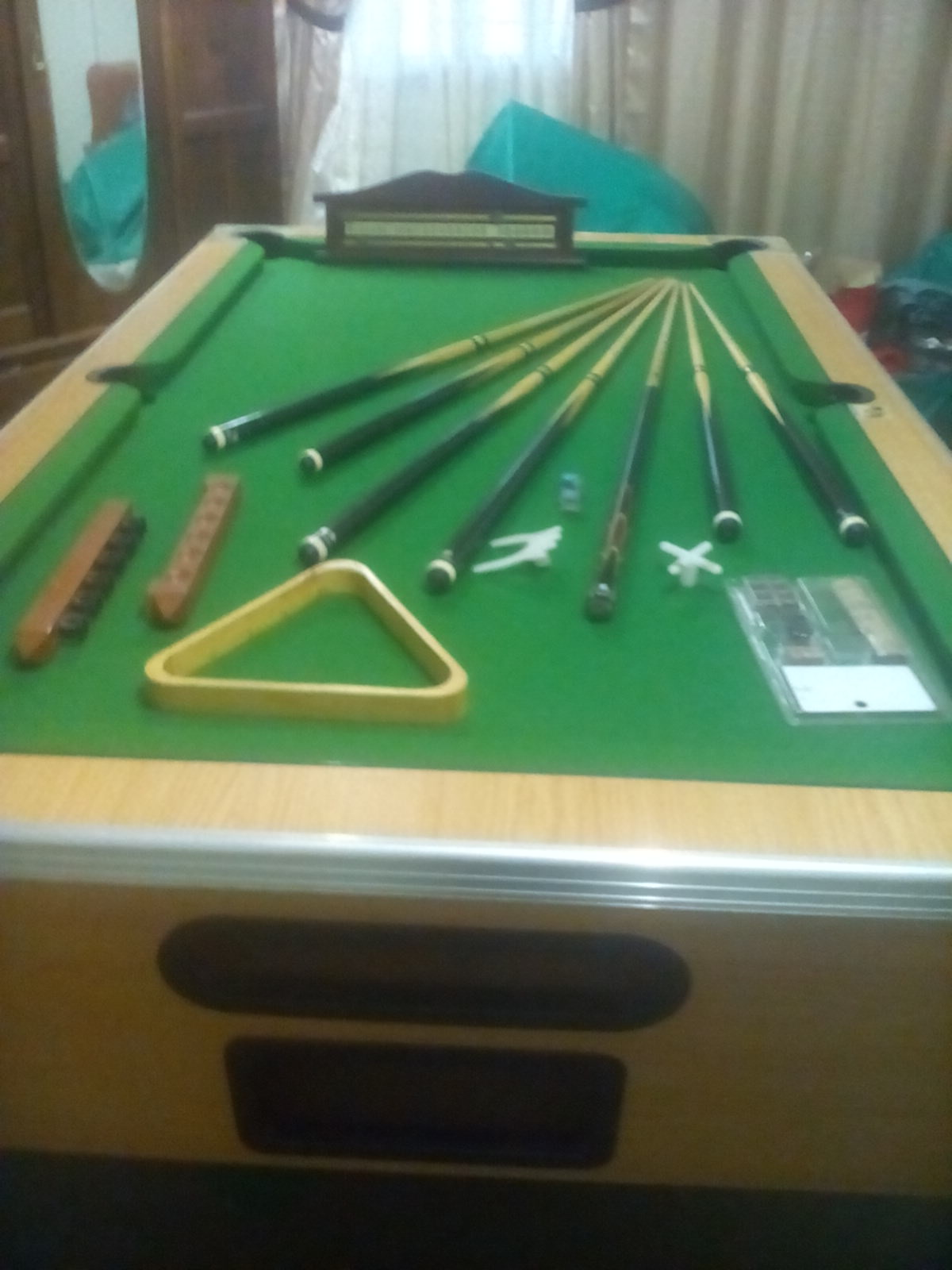 pool/snooker table in one