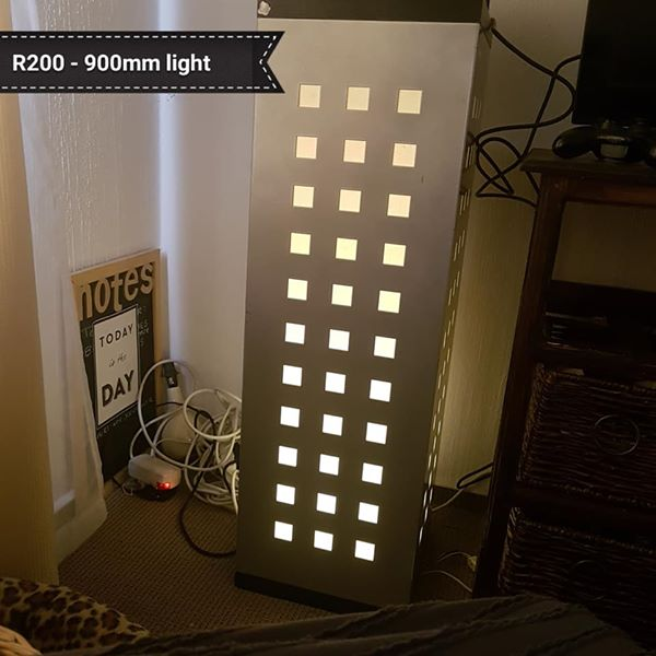 Really cool standing lamp.