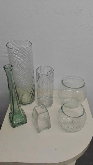 vases R20 - R40 each,