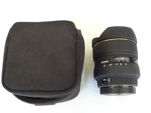 Sigma 12-24mm f/4.5-5.6 EX DG IF HSM Aspherical Ultra Wide Angle Zoom